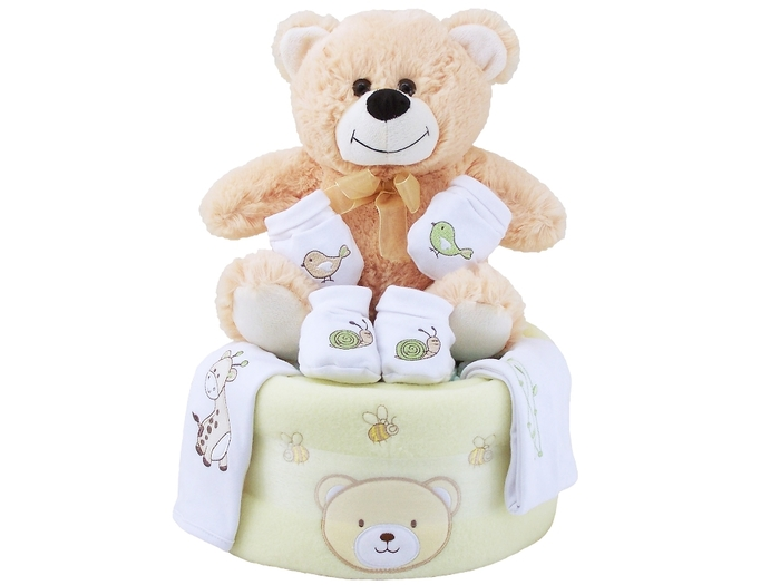 Teddy Nappy Cake
