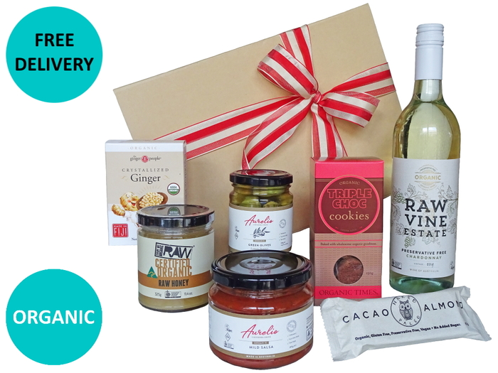 Organic White Wine & Nibbles